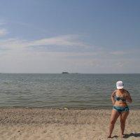 На морском песочке., . :: Мила Бовкун