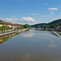 Вюрцбург- река Майн :: Galina Dzubina