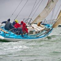 старт 50-мильной гонки: яхта Вега построена в 1958 :: Ingwar