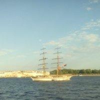 Корабль Алые Паруса перед представлением. (Санкт-Петербург). :: Светлана Калмыкова