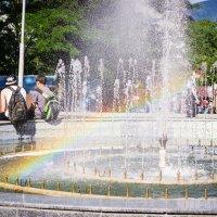 Радужный фонтан :: Алиса Терновая