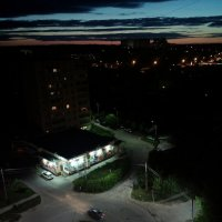 Район ночью :: Николай Филоненко