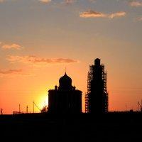 Екатерининская церковь на закате :: Ксения