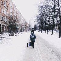 Человек и кошка :: Ольга Жижманова