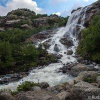 Водопад Алибек :: Сергей