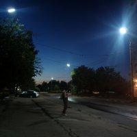 Ожидая последний троллейбус :: Николай Филоненко