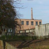Сахарный  завод  в   Городенке :: Андрей  Васильевич Коляскин