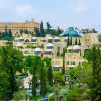 Иерусалим. Вид на Емин Моше и Кфар Давид. :: Игорь Герман