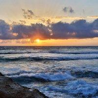 Закат на Пляже Фаласарна, Крит :: Детский и семейный фотограф Владимир Кот
