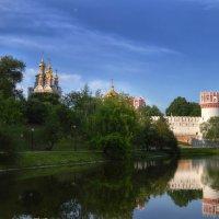 Новодевичий монастырь :: Галина Galyazlatotsvet
