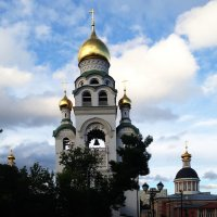 Церковь-колокольня Успения Божией Матери. Рогожский посёлок. :: Андрей