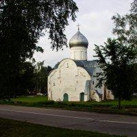 В Новгород Церковь святого Власия :: Алексей Корнеев