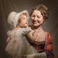 С дочерью :: Олег Дроздов