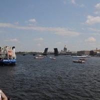 Развод Благовещенского моста.... :: tipchik