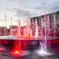 Музыкальный фонтан в Томске :: Михаил Петрик