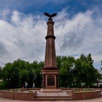 Памятника воинам 39-го Томского пехотного полка :: Михаил Петрик