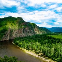 Горный пейзаж :: Сергей Алексеев