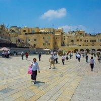 Иерусалим, Старый Город, площадь у Стены Плача :: Игорь Герман