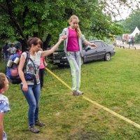 Трудности ходьбы по канату! :: Варвара