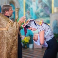 Крестины... :: Ольга Егорова