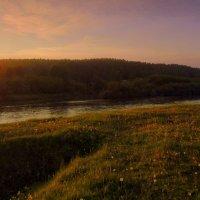На реке , на речке вечер наступил. :: Мила Бовкун