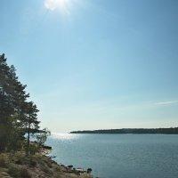 Выход из бухты в Ладогу :: Леонид Макаров