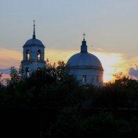 "Храм ""Знамение"" на закате :: Сергей Кочнев"