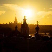 Закат над Москвой :: Roman Fundora