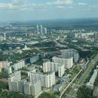 Панорама Москвы  с Останкинской Телебашни :: Евгений