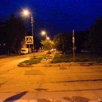 Ночь,улица,фонарь,знак. :: Света Кондрашова