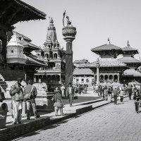 Площадь Дкрбар в Патане. Непал. :: Владимир Чернышев