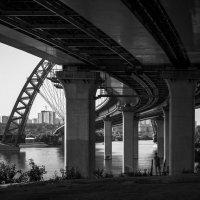 Изящный мост. Москва :: Roman Fundora