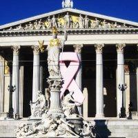 Афина Паллада у здания Венского Парламента :: татьяна