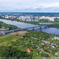 Новый мост в Великом Новгороде пущен в эксплуатацию :: Павел Москалёв