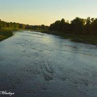 Река Уж. Украина. Закарпатье. Ужгород :: Yelena LUCHitskaya