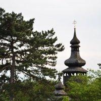 Деревяная церковь 11века. Ужгород. Украина. Закарпатье. :: Yelena LUCHitskaya