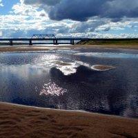 Перед грозой на реке Вымь :: Николай Туркин