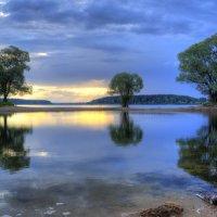Вечер на озерне :: Владимир