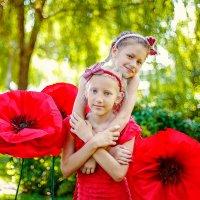 Мои Маковки, Валерия и Вероника :: Кристина Беляева