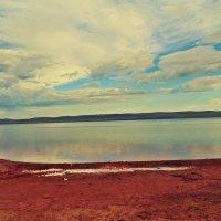 соленое озеро Белё :: Вероника Семенькова
