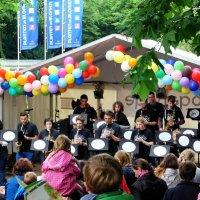 Гамбург. Музыканты в парке цветов :: Nina Yudicheva