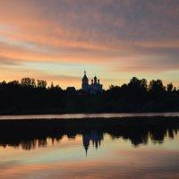 закат в Жестылево :: tatiana lanskaya