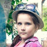 Юная путешественница :: Светлана Корнеева