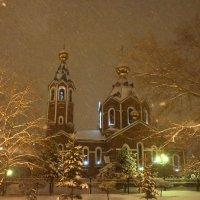 Вечерний снегопад! :: Ирина Антоновна