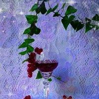 Красная смородина и гранатовый сок :: Nina Yudicheva