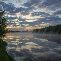 Рассвет на реке Клязьма. :: Igor Andreev
