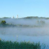 Утренний туман. :: Анатолий Борисов