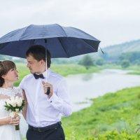 Дождь на свадьбу-это хорошо) :: Валерий Синегуб