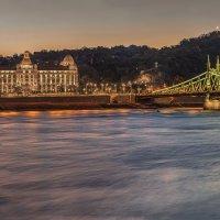 Лечебная купальня Геллерт в Будапеште :: Борис Гольдберг