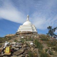 Байкал будистская ступа :: марк